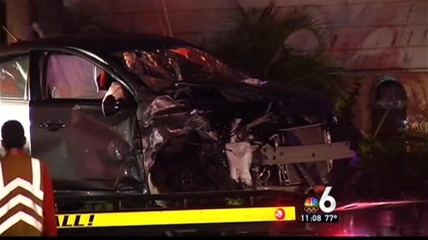 [MI] Four Hospitalized in Violent Crash in Hollywood
