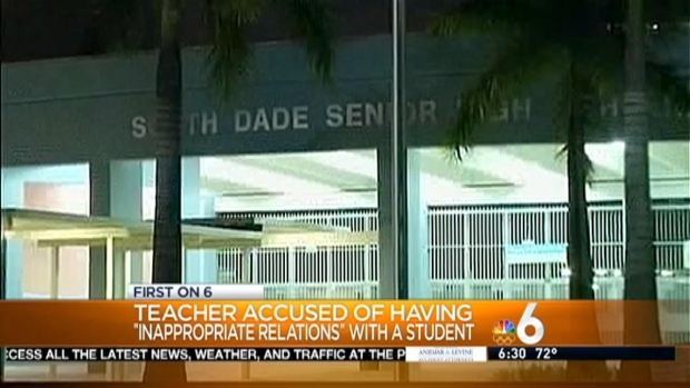 [MI] South Dade Teacher Accused of Inappropriate Relationship With Student