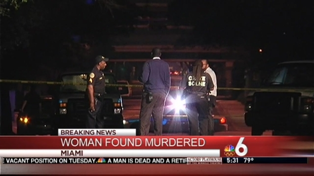 [MI] Woman Found Murdered on Miami Sidewalk