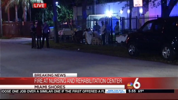 [MI] Residents Evacuated After Fire at Miami Shores Nursing Home