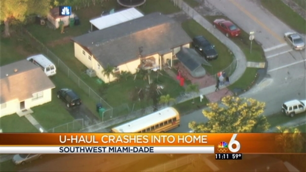 [MI] U-Haul Truck Crashes Into Homestead House