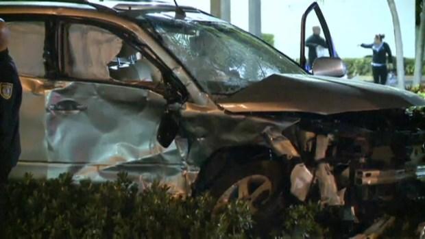 [MI] RAW VIDEO: Aftermath of Hialeah Police Crash