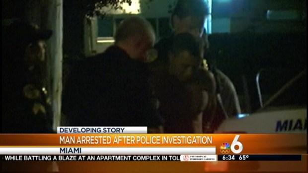 [MI] Man in Custody After Police Perimeter in Miami