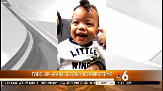 [MI] Little Boy Laughs After Hearing for First Time