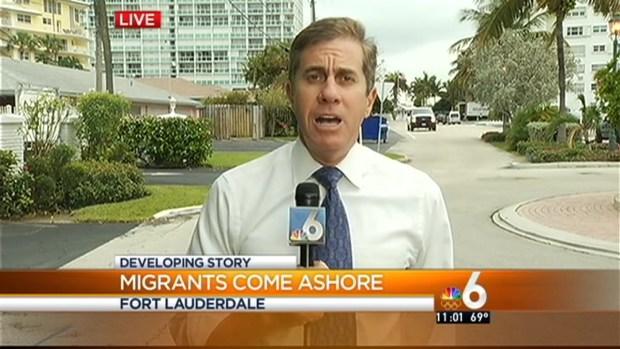 [MI] Migrants Come Ashore in Fort Lauderdale