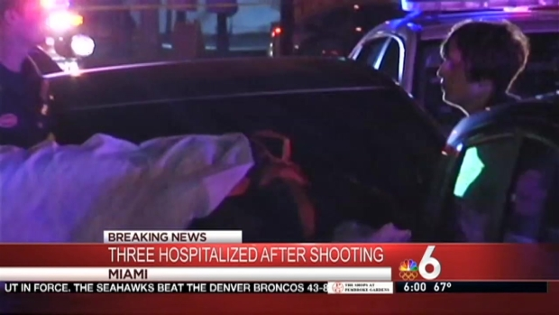 [MI] 3 Shot Outside Miami Strip Club