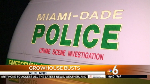 [MI] More Than 800 Pounds of Pot Seized in Miami-Dade Grow House Raids