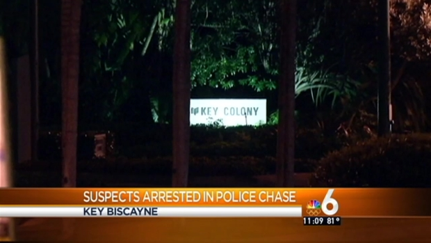 [MI] 4 In Custody After 2 Police Chases That Began in Key Biscayne