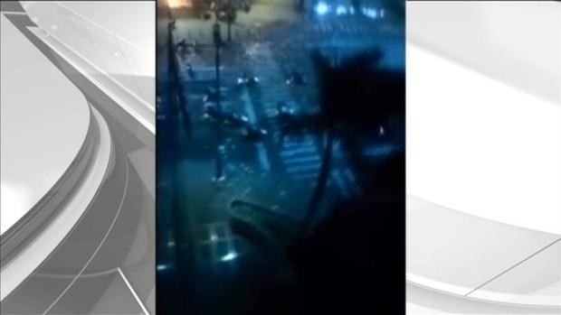 [MI] RAW VIDEO: Shots Ring Out on Venezuelan Streets