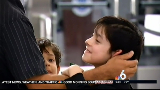 [MI] Pena Children Reunited With Father