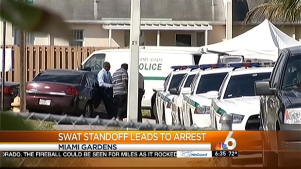 [MI] Man in Custody After SWAT Standoff in Miami Gardens