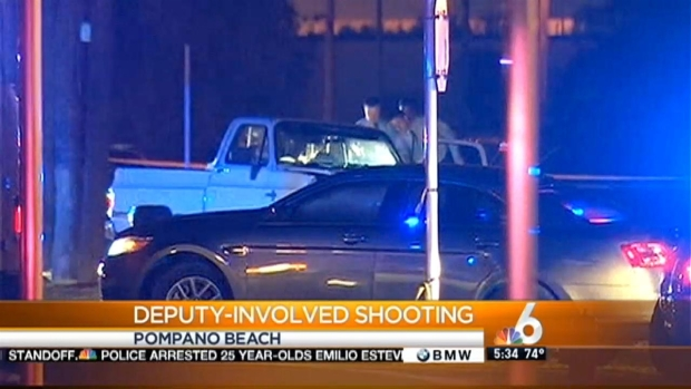 [MI]Suspect Killed in Deputy-Involved Shooting in Pompano Beach