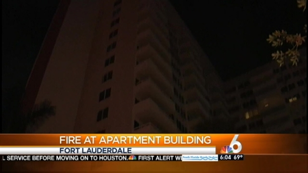 [MI] 2 Rescued, 100 Evacuated From High-Rise Fire in Fort Lauderdale
