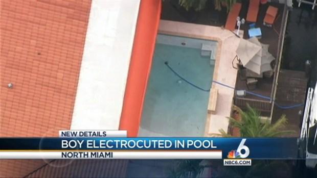 [MI] Boy Electrocuted in Swimming Pool