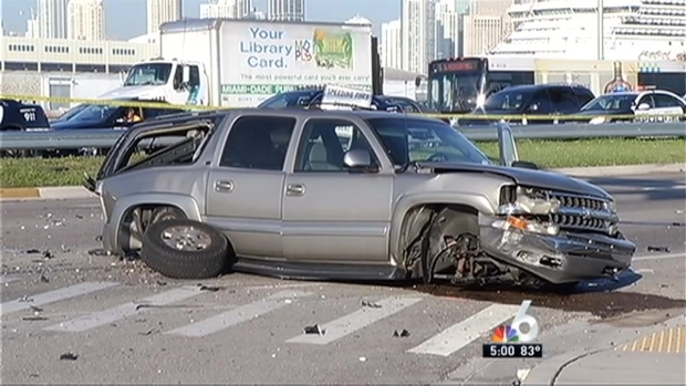 [MI] Man Killed in Violent MacArthur Causeway Crash