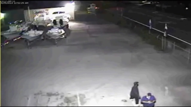 [MI] RAW VIDEO: Dania Beach Marina Burglary Caught on Camera
