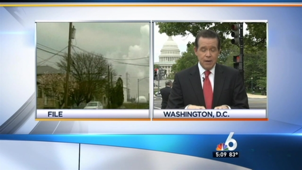 [MI] NBC 6's John Morales At The White House Talking Climate Change