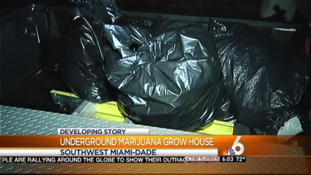 [MI] Underground Grow House Found at Southwest Miami-Dade Home