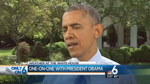 [MI] NBC 6's John Morales Talks Climate With President Barack Obama