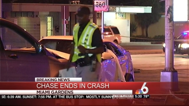 [MI] Chase Comes to Crashing End in Miami Gardens