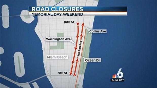 [MI] Memorial Day Weekend Road Closures