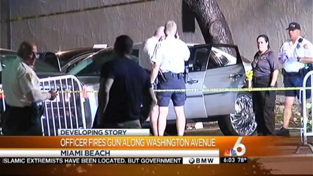 [MI] Miami Beach Police Officer's Gun Goes Off at Scene