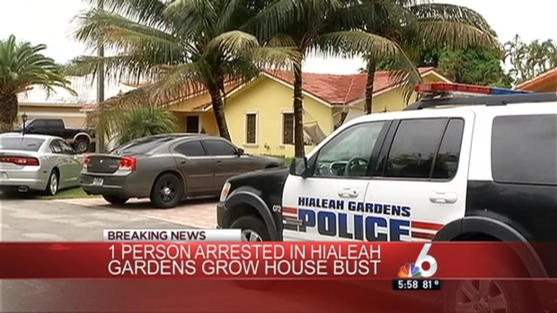 [MI] Hialeah Gardens Police Bust Grow House