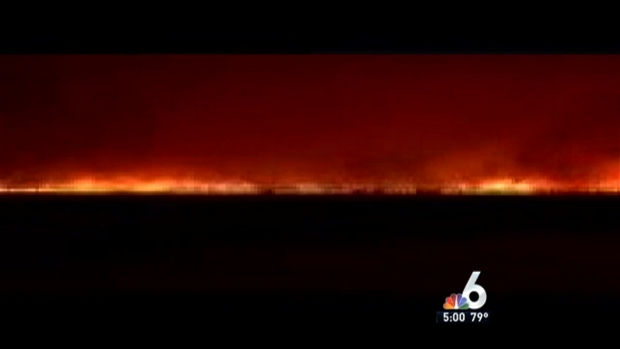 [MI] Massive Fire Scorces 19,500 Acres in Everglades