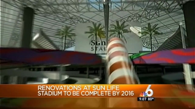 [MI] Sun Life Stadium Renovations Begin