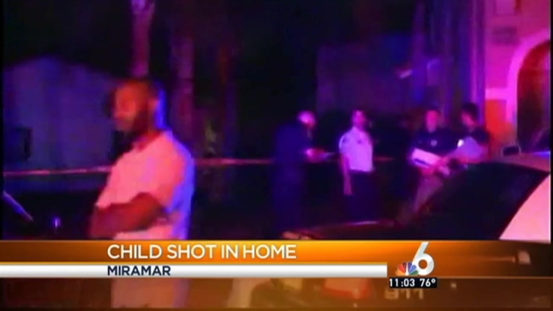 [MI] 3-Year-Old Girl Shot in Miramar Home