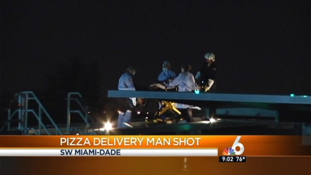 [MI] Pizza Delivery Driver Shot, Robbed in Miami