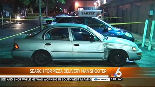 [MI] Pizza Delivery Driver Shot in Miami