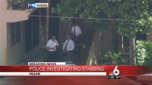 [MI] Police Investigate Double Stabbing in Miami