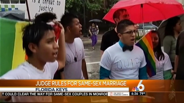 [MI] Same Sex Marriage Ruling Celebrated in Florida Keys
