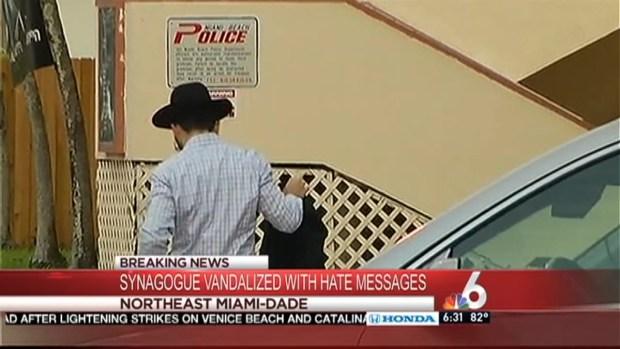 [MI] Anti-Semitic Vandalism hits Synagogue
