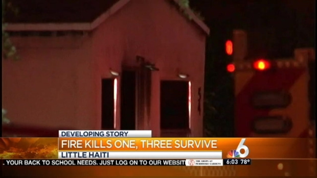 [MI] 1 Killed in Fire at Little Haiti Home