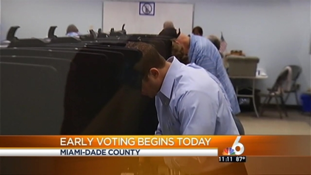 [MI] Miami-Dade Early Voting Begins