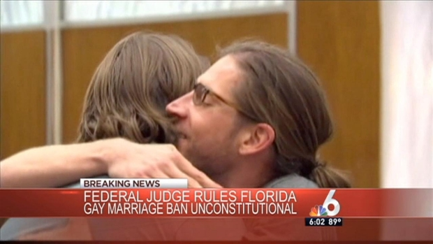 [MI] Federal Judge Strikes Down Fla. Gay Marriage Ban