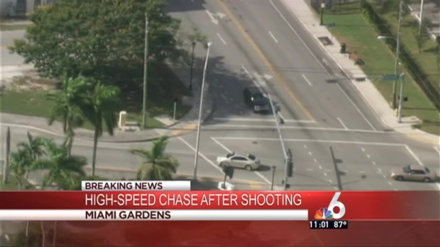 [MI] High-Speed Chase Ends in Crash in Miami