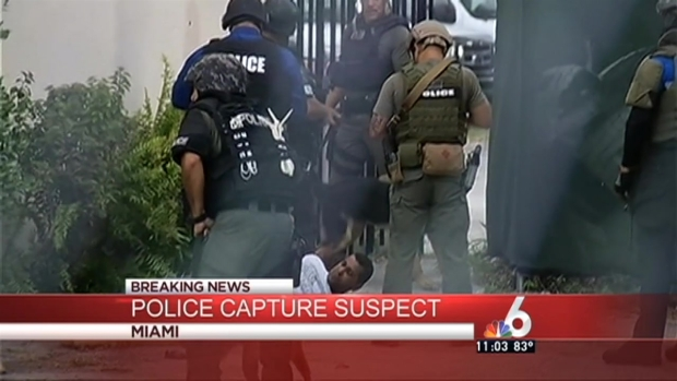 [MI] Suspect Caught in Police Perimeter in Miami