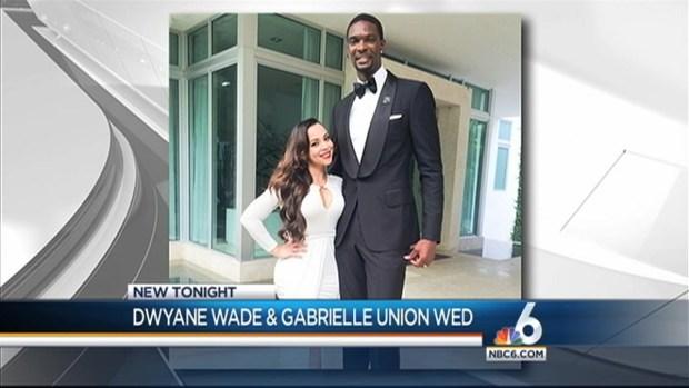 [MI] Dwyane Wade, Gabrielle Union Get Married