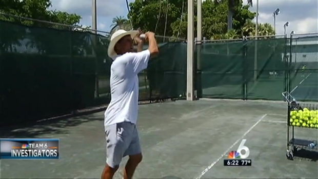 NBC 6 Investigation: Tennis Pro Asks for Trial