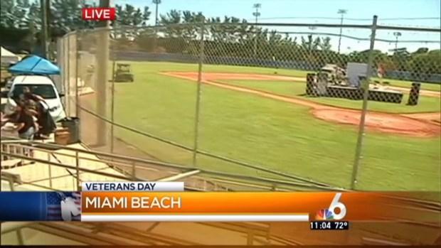 Miami Beach Hosts Veterans Day Parade