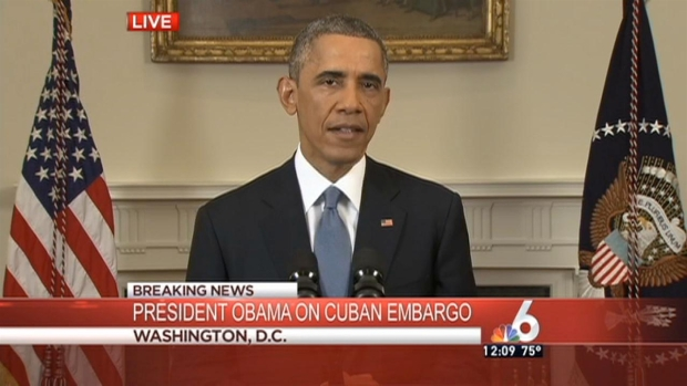 [MI] Obama: U.S. Ending Outdated Approach to Cuba