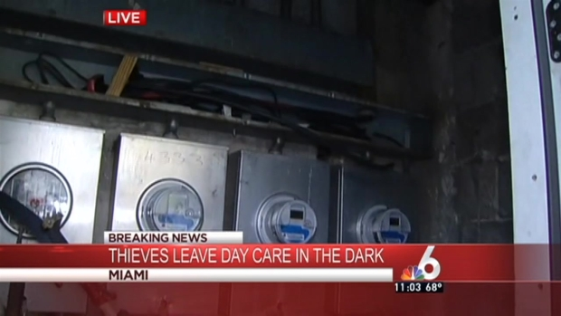 [MI] Copper Thieves Leave Daycare in the Dark