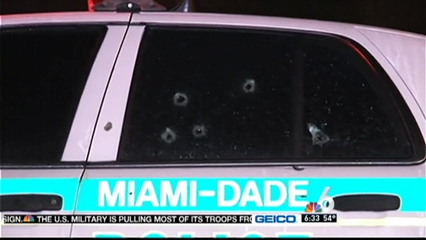 [MI] MDPD Cruiser Riddled with Bullets