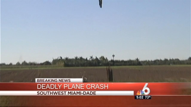 [MI] 4 Killed in Small Plane Crash in Southwest Miami-Dade