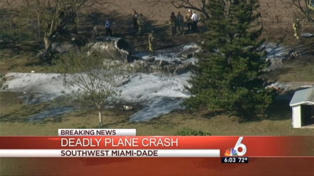 [MI] 4 Killed in Plane Crash in Southwest Miami-Dade