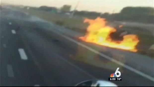 [MI] Crash That Caused Explosion Caught on Camera
