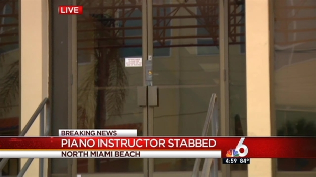 [MI] Piano Instructor Stabbed by Student in North Miami Beach: Police